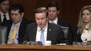 Senator Murphy Questions Rex Tillerson During Secretary of State Nomination Hearing