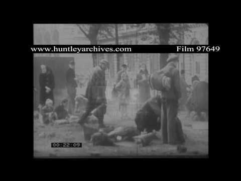 Post War Dresden Reconstruction.  Archive film 97649