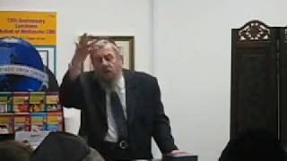 Rabbi Emmanuel Schochet lectures at Chabad of Melbourne  CBD