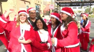 2015 Santa Run In Downtown Las Vegas - Unravel Travel TV