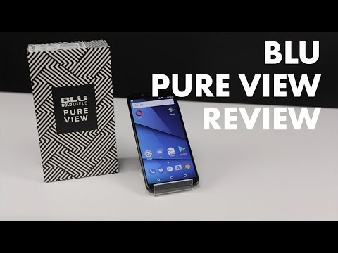 Android on a Budget?! Blu Pure View Full Review