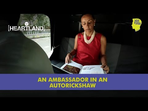 The Ambassador In An Autorickshaw | Mexico's Melba Pria | Unique Stories from India