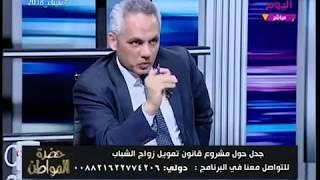 النائب محمد عطا سليم يُحرج محامي بالنقض ويتسبب في انفعاله: ما تطبق اللي بتقوله!!