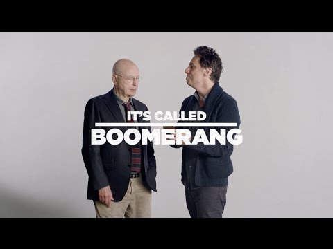 Alan Arkin Teaches Zach Braff How To Use Boomerang | GOING IN STYLE