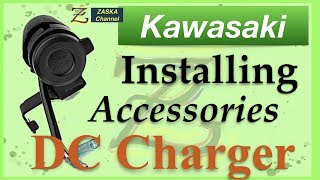 How to Install: DC and USB Charger for a Kawasaki Vulcan S - Detailed steps