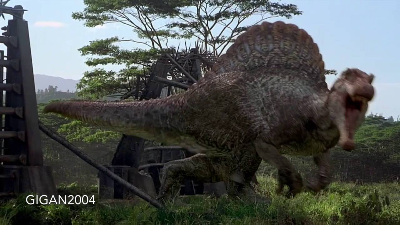 Jurassic park tribute to spinosaurus and indominus creeping death short youtube - Spinosaurus jurassic park ...