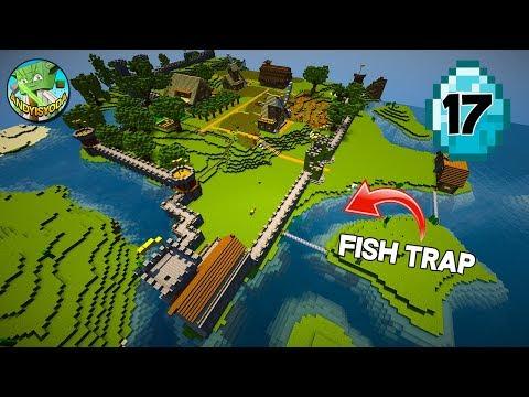 Transform a Minecraft Village into a Town E17 - Fishing Hut