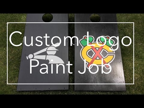 DIY Custom Logo Paint Job YouTube