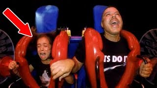 Scared Kids - GIRLS | Funny Slingshot Ride Compilation
