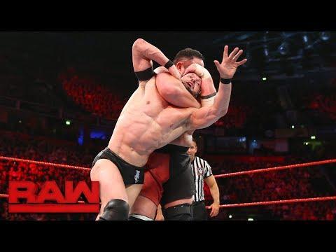 Finn Bálor vs. Samoa Joe: Raw, Nov. 6, 2017