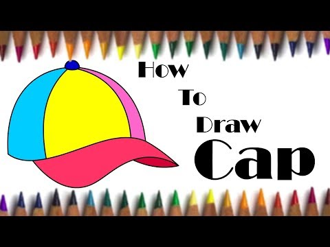 How to Draw Cap for kids easy steps | Fun With Drawing