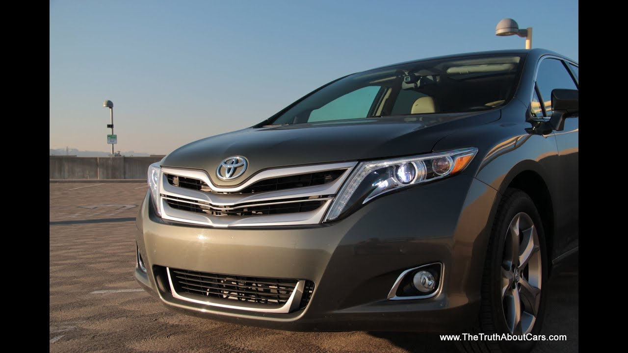 2013 Toyota Venza Limited Drive Review and Road Test - YouTube