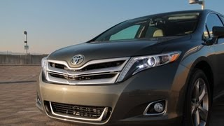 2013 Toyota Venza Limited Drive Review and Road Test