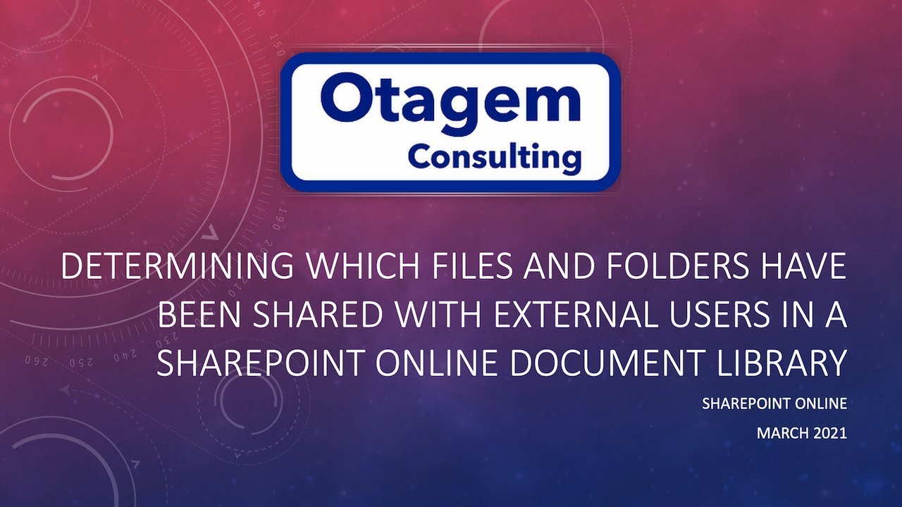 Determining which Files & Folders have been shared with External Users in SharePoint Online
