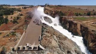 Oroville Spillway May 19, 2017