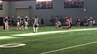 Watch Ohio State Football's C.J. Stroud, Jack Miller And Kyle McCord In Spring Practice