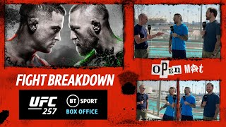 UFC 257: Poirier v McGregor 2 full fight card breakdown | Open Mat with Dan Hardy from Fight Island!