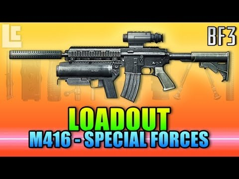 Loadout - M416 Special Forces (Battlefield 3 Gameplay/Commentary/Review)