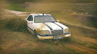 Cu Mercedes-Benz C180  Pe Camp - E Bun De Off Road? - 4K