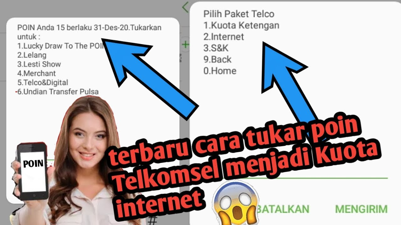 Cara Tukar Poin Telkomsel Menjadi Kuota Internet Youtube