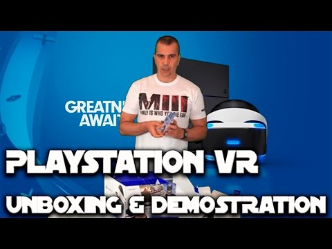 PLAYSTATION VR | Unboxing y Demostraciones by XII_Doce