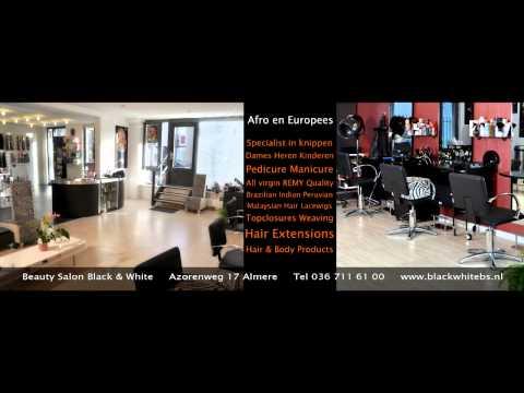 Beauty Salon Black & White Video