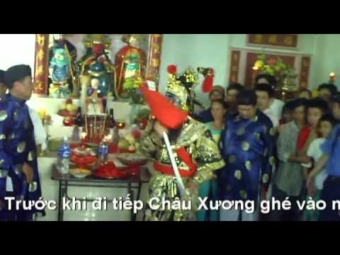 Nhập xác Quang Công - rầm tháng giêng Châu Đốc