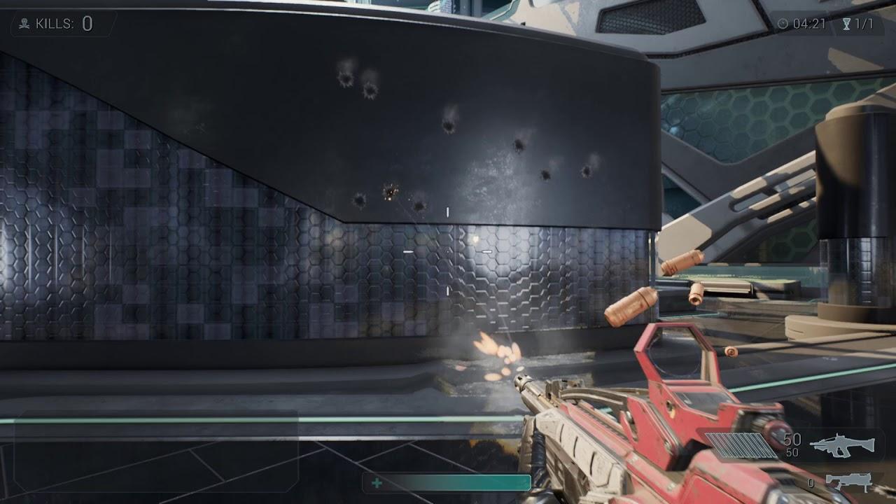 Joyce Webb - CGMA VFX For Games - Week 4 - Gunfire
