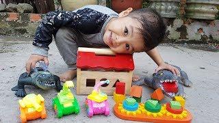 Trò Chơi Bé Vui Nhà Gỗ ❤ ChiChi ToysReview TV ❤ Đồ Chơi Trẻ Em Baby Doli Bài Hát Vần Thơ