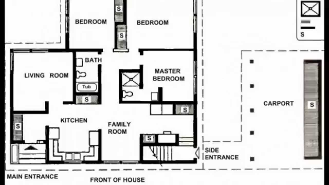 Small house plans small house plans modern small house for Floor plans with pictures