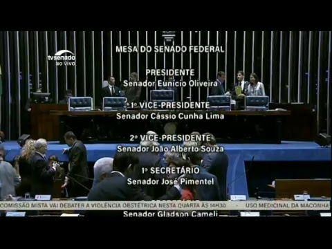 TV Senado ao vivo - Sessão Deliberativa - 19/06/2018