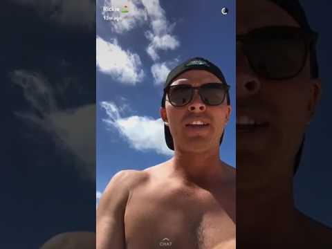 Rickie Fowler SB2k17 Snapchat Bakers Bay