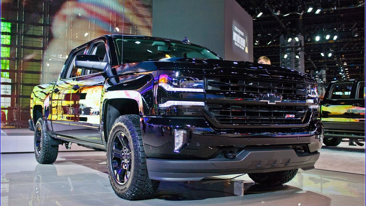 2017 chevy silverado midnight edition Interior And ...