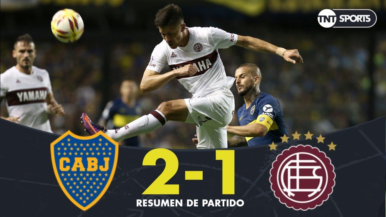 Resumen de Boca Juniors vs Lanús (2-1) | Fecha 19 - Superliga Argentina 2018/2019
