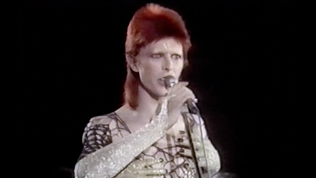 David bowie jean genie live 1973 new edit remastered for 1980 floor show david bowie