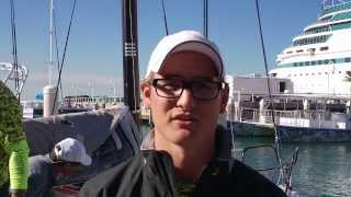 Interview with Dalton DeVos, skipper of Delta, at Quantum Key West 2014