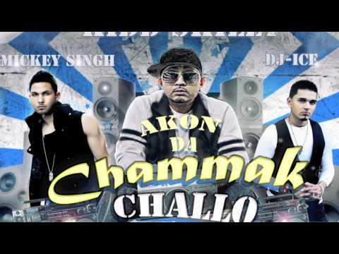 """Akon """"Chammak Challo"""" Remix (Official) ft.Kidd Skilly, Mickey Singh and Dj Ice """"RA ONE"""" August 2011"""