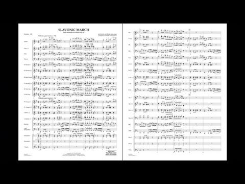 Slavonic March (from Serenade for Winds, Op. 44) by Dvorák/arr. Longfield