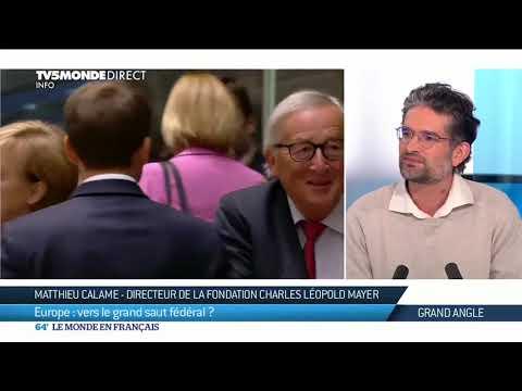 Matthieu Calame : Europe, vers le grand saut fédéral ?