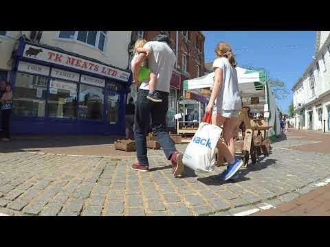 Ashford Town Centre Tour Picknic Regional Market 2018