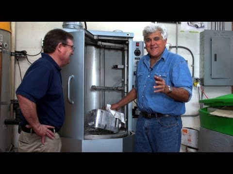 Cleaning Car Parts -  Jay Leno's Garage