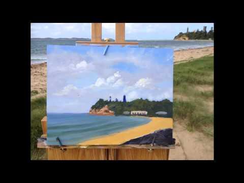 Plein Air Painting Step By Step Demonstration Plein Air