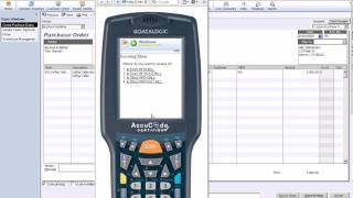 Learn how to receive inventory using the web-based intuit warehouse management es (wmes) and a mobile barcode scanner, which connects seamlessly with ...