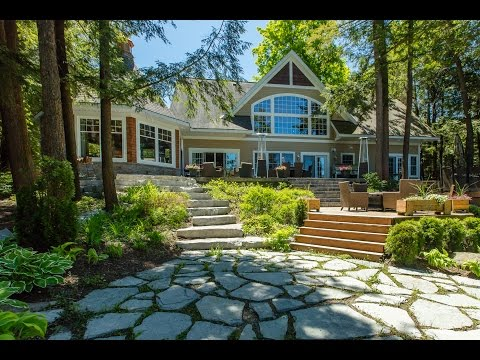 1043 Chown Road Lake JosephLake Joseph Muskoka Ontario Video Tour