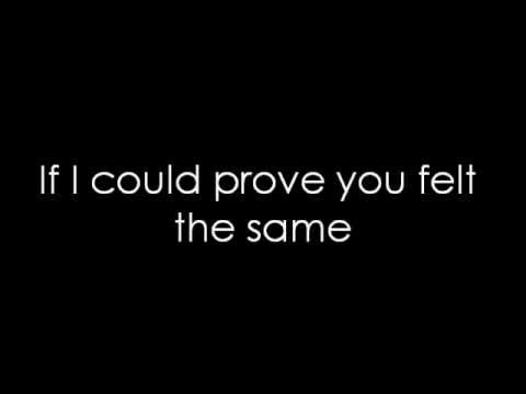 12 Stones - If I Could (lyrics)