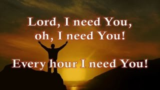 Lord I Need You - Karaoke - Always Glorify GOD!!!