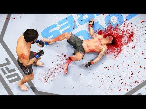 Я ПСИХ и МЕНЯ ОКРУЖАЮТ ТРУПАКИ/ТОП 10 UFC 3 НОКАУТЫ
