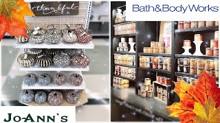 FALL 2019 DECOR & CANDLE PREVIEW | Joann's | Bath & Body Works | Michaels | Pt. 2