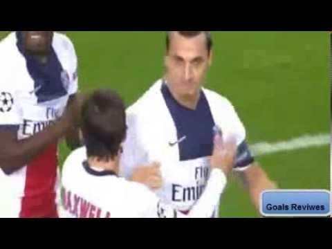 Zlatan Ibrahimovic AMAZING Hattrick Goals ~ Anderlecht vs PSG 0-3 HD