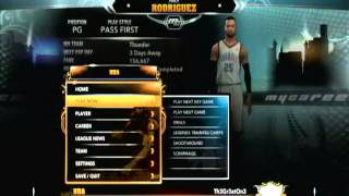 Wii-U NBA 2K13 Review Pt.1